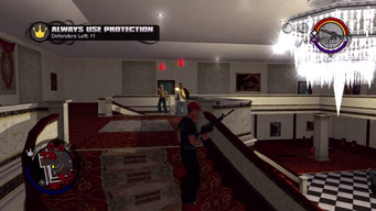 Always Use Protection - upstairs