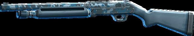 File:SRIV Shotguns - Semi-Auto Shotgun - Big Game - Blue Camo.png