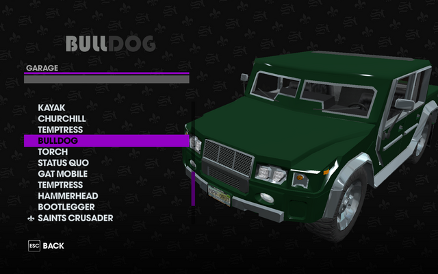 File:Bulldog in the Garage in Saints Row The Third.png
