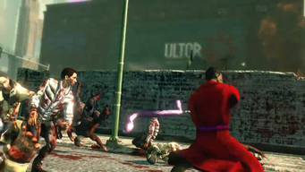Ultor logo in Saints Row The Third trailer