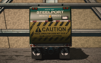 Saints Row IV variants - Steelport Municipal Average - rear