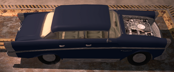 Hollywood - Beater with no hood at the mechanic in Saints Row 2