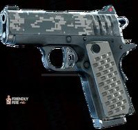 SRIV Pistols - Quickshot Pistol - 9MM Tactical - Digital Camo