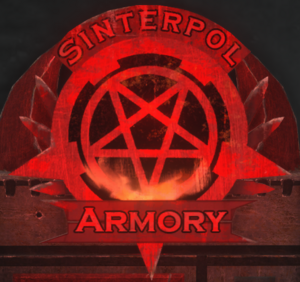Sinterpol Armory logo