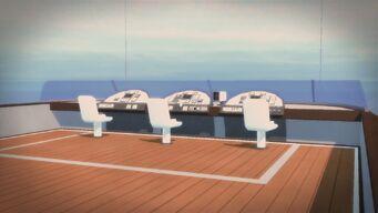Executive Yacht - Exterior controls