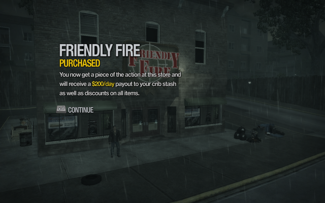 File:Friendly Fire in Misty Lane purchased in Saints Row 2.png