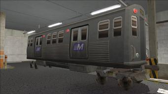 Saints Row variants - El Train - El Train Rear - front right