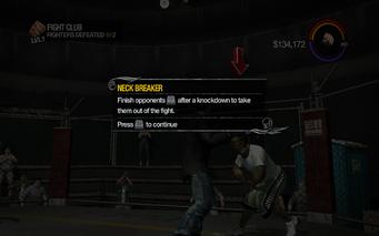 Fight Club - Neck Breaker tutorial in Saints Row 2