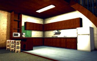 University Loft - Classy - kitchen