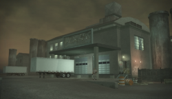 Drug Factory - exterior front in Saints Row 2
