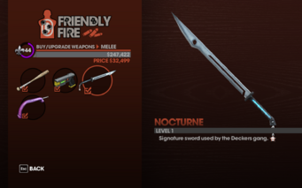 Nocturne - Level 1 description