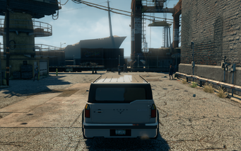 Kayak - rear - in Saints Row The Third