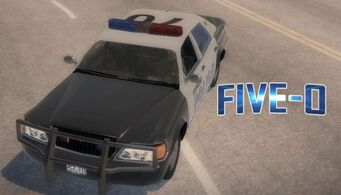 Five-O - front left with logo in Saints Row 2
