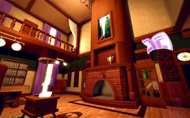 File:University Loft - Ultra Modern - fireplace.jpg