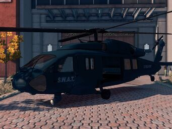 Eagle - SWAT variant - front left parked in Saints Row The Third