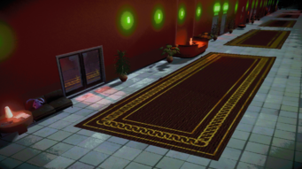 Kingdom Come interior in Saints Row IV