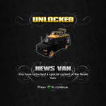 Saints Row unlockable - Vehicles - News Van - Anchor