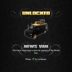 Saints Row unlockable - Vehicles - News Van - Anchor