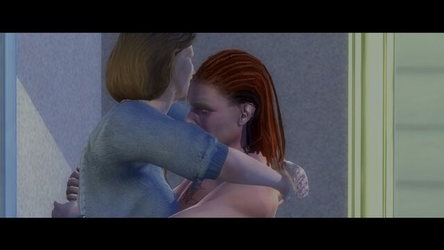 File:File in the Cake - Absence Makes The Heart Grow Fonder cutscene - Laura and Tobias hugging.jpg