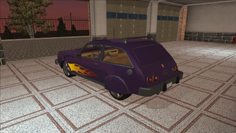 Saints Row variants - Slingshot - Gang 3SS lvl2 - rear left