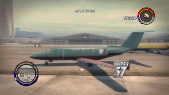 Snipes 57 - left with logo in Saints Row 2