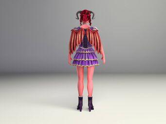Jezebel Model - back
