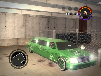 Status Quo - Sons of Samedi variant - front right with lights in Saints Row 2
