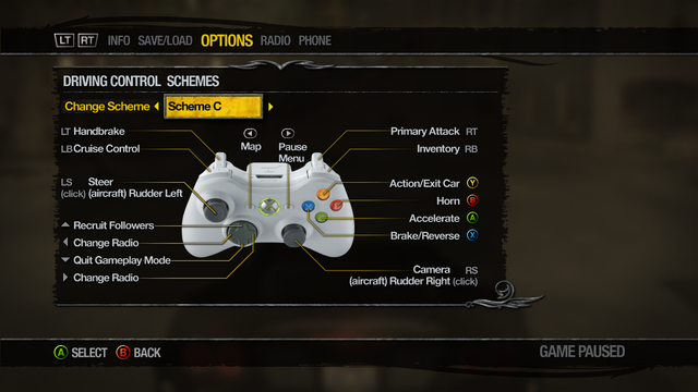 File:Saints Row 2 Menu - Options - Controls - Driving Control Schemes - Scheme C.png