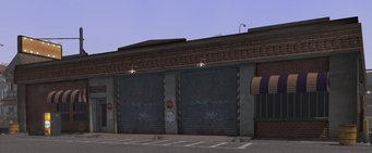 Samson's Garage in Saints Row