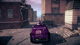 Saints N-Forcer in Saints Row IV - rear