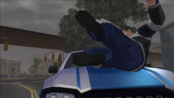 Guardian Angel - Donnie on Lin's car