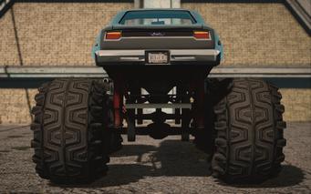 Saints Row IV variants - Bootlegger XL average - rear