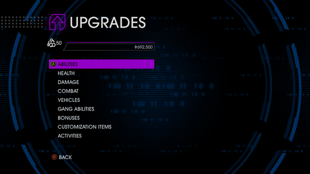 File:Upgrades menu in Saints Row IV.png