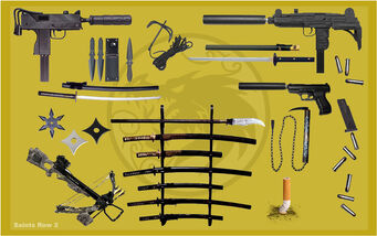 Ronin Weapons