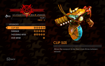 Gat out of Hell - Organic SMG - Upgrades