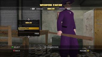 Saints Row Weapon Cache - Melee - Baseball Bat