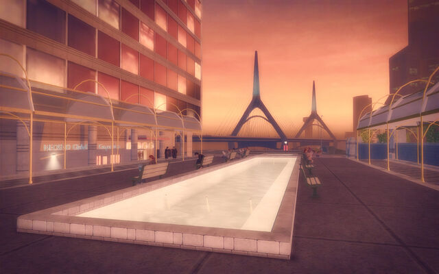 File:Adept Way in Saints Row 2 - walkway with fountain.jpg
