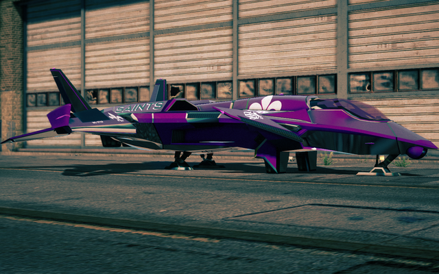 File:Saints VTOL - front left parked in Saints Row IV.png