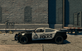 Peacemaker - left in Saints Row The Third