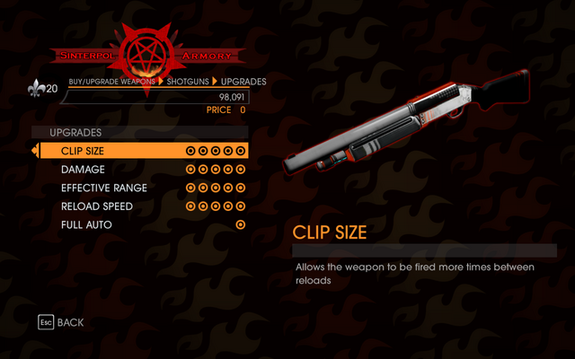 File:Gat out of Hell - Semi-Auto Shotgun - Upgrades.png