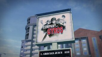 Company Of Gyros sign