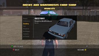 Saints Row Chop Shop - Docks and Warehouses - Destiny