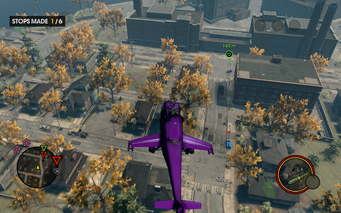 Heli Assault Enemy below in Saints Row The Third