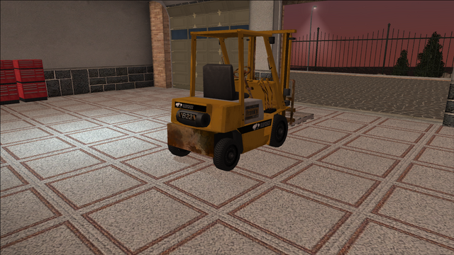 File:Saints Row variants - Forklift - industrial with pallet - rear right.png