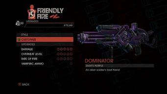 Weapon - Rifles - Alien Rifle - Upgrades