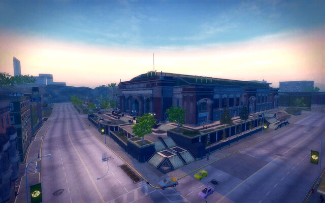 File:Frat Row in Saints Row 2 - Culex stadium aerial view.jpg