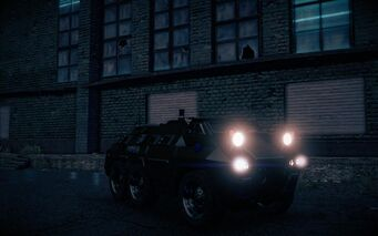 Bear - front right with lights in Saints Row IV