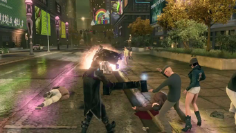Saints Row IV Announce Teaser - Statues have 3 breasts