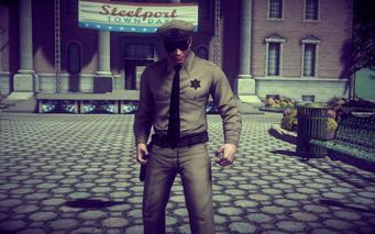 A Pleasant Day - super sheriff