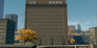 Abandoned office building